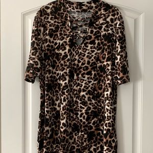 Super soft Leopard Print Dress